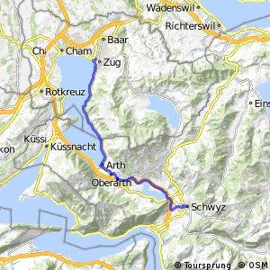 rcn 51 - Etappe 2 (Zug–Schwyz)