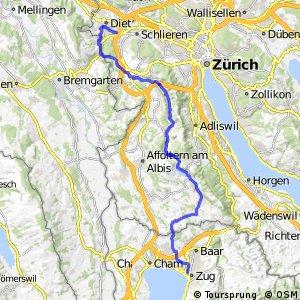 rcn 51 - Etappe 1 (Zürich–Zug)