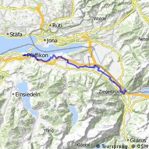 rcn 32 - Etappe 3 (Pfäffikon SZ–Niederurnen (Ziegelbrücke))