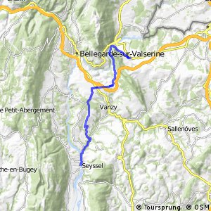 ViaRhôna : Vulbens - Seyssel