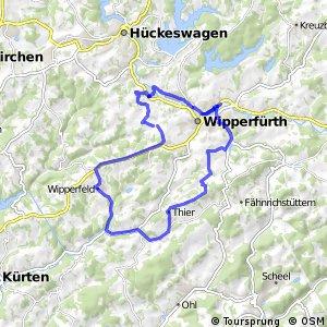 Kirchdorfradweg Wipperfürth Route 1