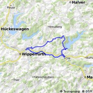 Kirchdorfradweg Wipperfürth Route 3