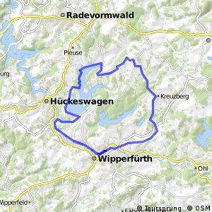 Kirchdorfradweg Wipperfürth Route 4