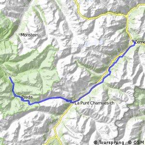 ncn 6 - Etappe 3 (Bergün-Zernez)