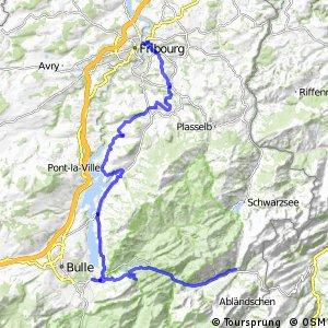 rcn 59 - Etappe 3 (Jaun-Fribourg)