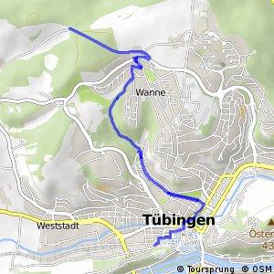 Tübingen Zentrum - Heuberger Tor