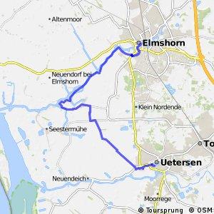 Ochsenweg, Exkurs Seestermüher Marsch
