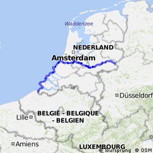 Euroroute R1 - part Netherlands