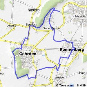 Grüner Ring Hannover - Umlandschleife Ronnenberg - Gehrden
