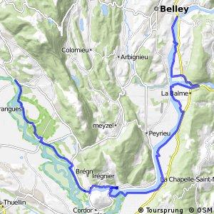 ViaRhôna : Belley - Groslée