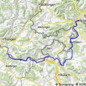 ncn 2 - Etappe 7 (Schaffhausen-Zurzach)