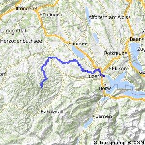 rcn 77MTB - Etappe 3 (Napf (Stächelegg)–Luzern)