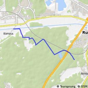 Die Ruhlander Heide-Tour - Bärhaus - Ruhland