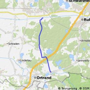 Die Ruhlander Heide-Tour - Kroppen - Bärhaus