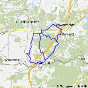Die Ruhlander Heide-Tour