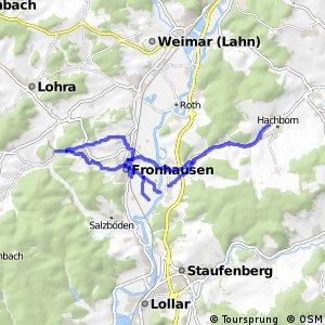 Nebenstrecke MR/BI (Gemeinde Fronhausen)