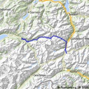 Alpine Bike - Etappe 10 (Andermatt - Meiringen)