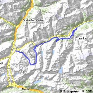 Alpine Bike - Etappe 9 (Disentis - Andermatt)
