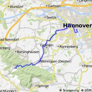 Fahrradregion Hannover - Regionsroute 3