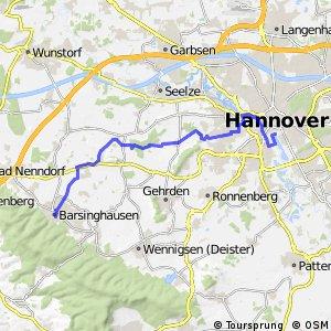Fahrradregion Hannover - Regionsroute 4