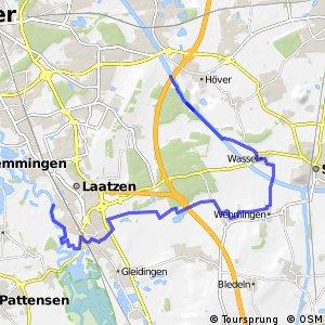 Grüner Ring Hannover - Umlandschleife Sehnde