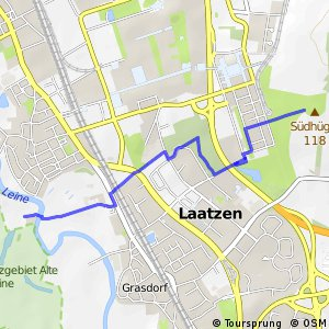 Grüner Ring Hannover - Innenschleife Laatzen