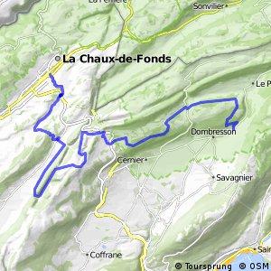 Neuchâtel Bike - Étape 2 (Chézard-St. Martin (Villiers)-La Chaux-de-Fonds)