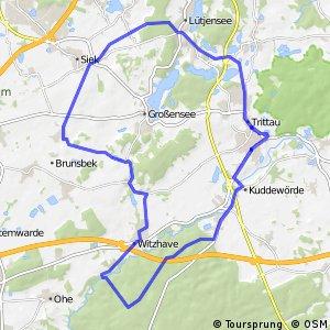 Tour 19, Radwander-Rundweg, Stormarn