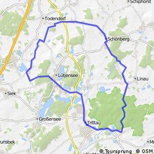 Tour 17, Radwander-Rundweg, Stormarn