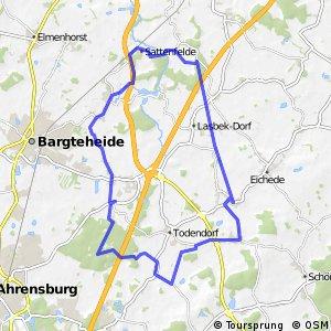 Tour 13, Radwander-Rundweg, Stormarn