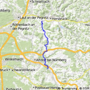 Pegnitz-Laber-Radweg