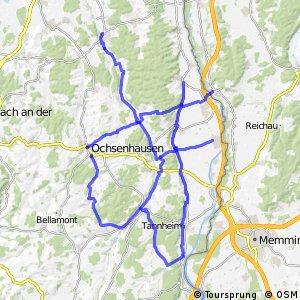 Radwegenetz BW, Landkreis Biberach