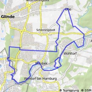 Tour 22, Radwander-Rundweg, Stormarn