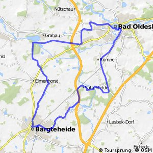 Tour 7, Radwander-Rundweg, Stormarn