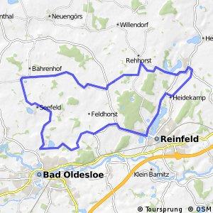 Tour 3, Radwander-Rundweg, Stormarn