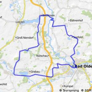 Tour 2, Radwander-Rundweg, Stormarn