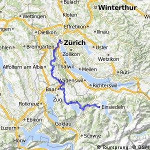 Zürich-Einsiedeln Bike (Zürich-Einsiedeln)