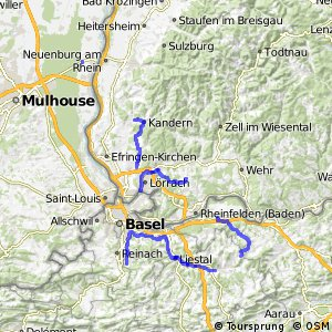 Dreiland-Radweg (Schweizer Abschnitt)