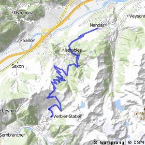 43MTB Valais Alpine Bike (Etape 1 Verbier-Nendaz)