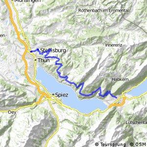 rcn 61 - Etappe 1 (Thun (Steffisburg) - Interlaken)