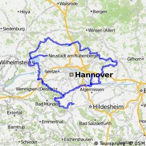Fahrradregion Hannover - Regionsring