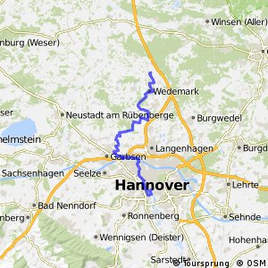Fahrradregion Hannover - Regionsroute 8