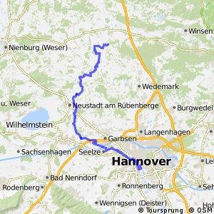Fahrradregion Hannover - Regionsroute 7