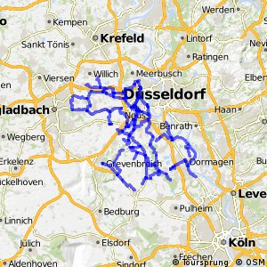 Knotenpunktnetzwerk Rhein-Kreis Neuss