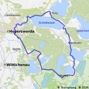 Niederlausitzer Bergbautour (Hoyerswerdaer Runde)