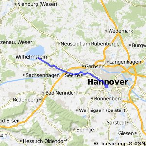 Fahrradregion Hannover - Regionsroute 6