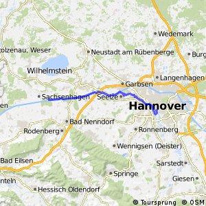 Fahrradregion Hannover - Regionsroute 5