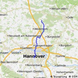 Fahrradregion Hannover - Regionsroute 9