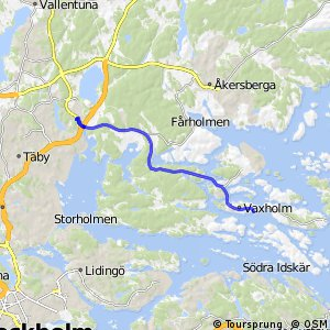 Regionalt cykelnät Stockholm (Vaxholmsstråket)