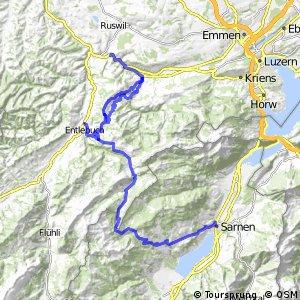rcn 73 - Etappe 2 (Wolhusen (Werthenstein)-Sarnen)